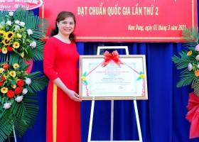 Hình ảnh tại buổi lễ công bố QĐ và trao bằng công nhận trường đạt chuẩn quốc gia