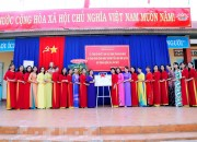 Các hoạt động của Công đoàn trong tháng tôn vinh người phụ nữ.