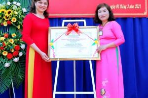 Lễ đón bằng công nhận trường chuẩn Quốc gia lần 2 của Trường Tiểu học Ngô Quyền