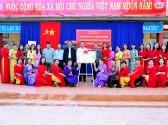 Hình ảnh tại buổi lễ Công bố QĐ và trao bằng công nhận trường chuẩn Quốc gia lần thứ hai cho trường tiểu học Ngô Quyền