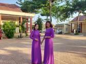 Chùm ảnh Hưởng ứng tuần lễ áo dài Việt Nam năm 2021